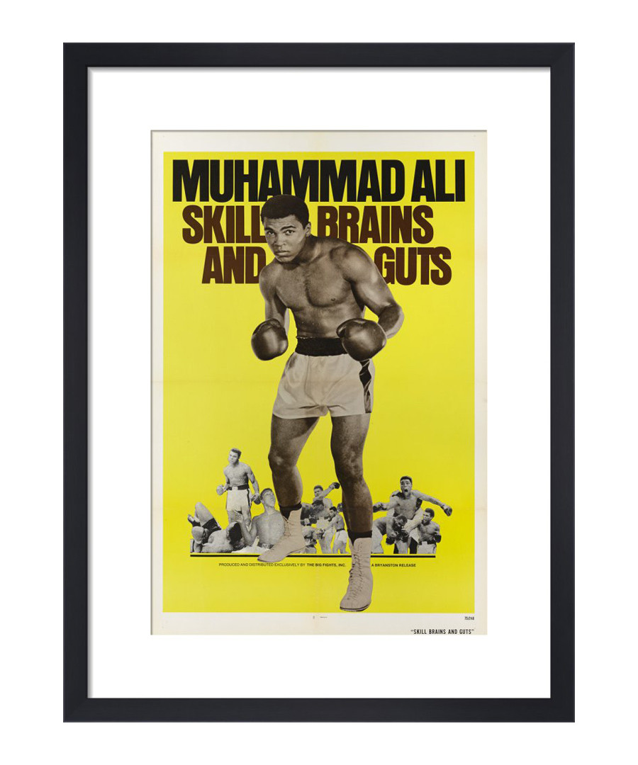 Muhammad Ali framed print Sale - The Art Guys