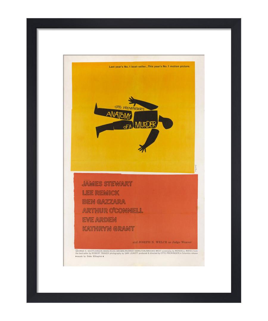 Anatomy of a Murder framed print Sale - The Art Guys
