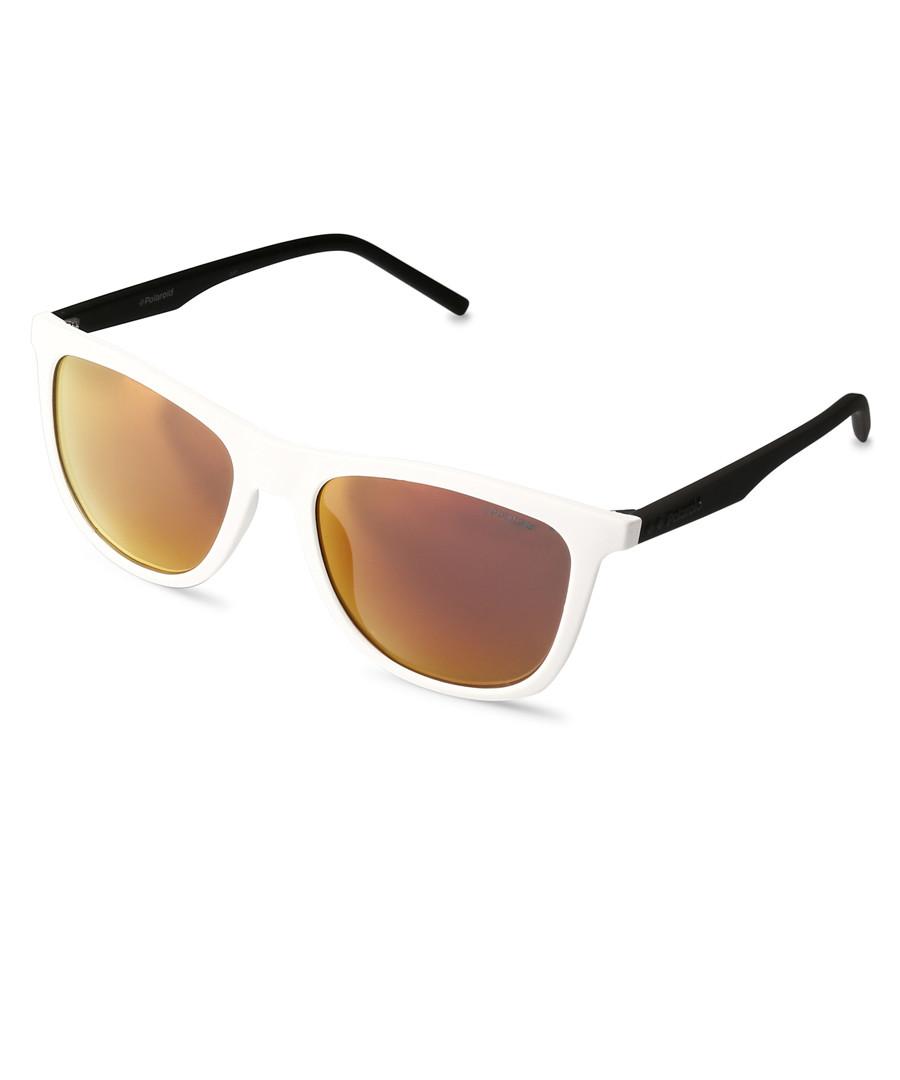 Black & white wayfarer sunglasses Sale - polaroid