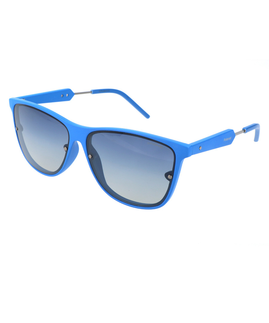 Blue wayfarer sunglasses Sale - polaroid