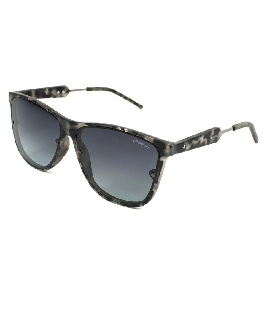 Black flecked oversize sunglasses Sale - polaroid