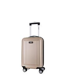 Newman beige spinner suitcase 56cm