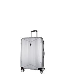 Scheving silver spinner suitcase 60cm