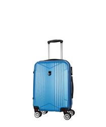 Scheving blue spinner suitcase 50cm