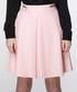 Pink flared pleated mini skirt Sale - Ambigante Sale