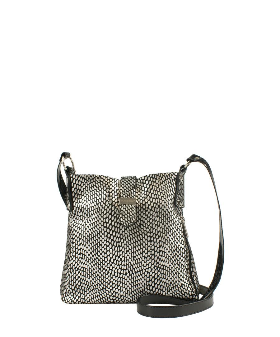 Silver-tone leather cross body bag Sale - BOSCCOLO 554e18f1847e6