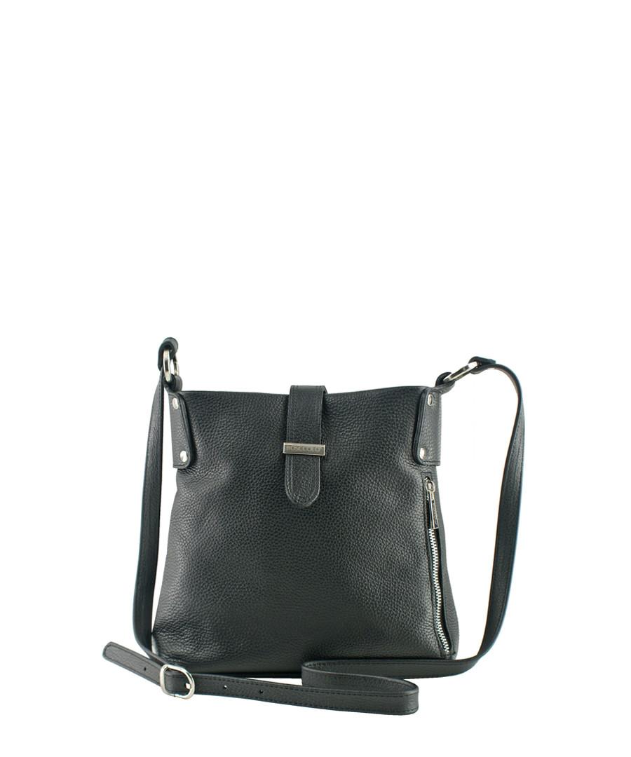 Black grain leather shoulder bag Sale - BOSCCOLO 6b08e0b4df935