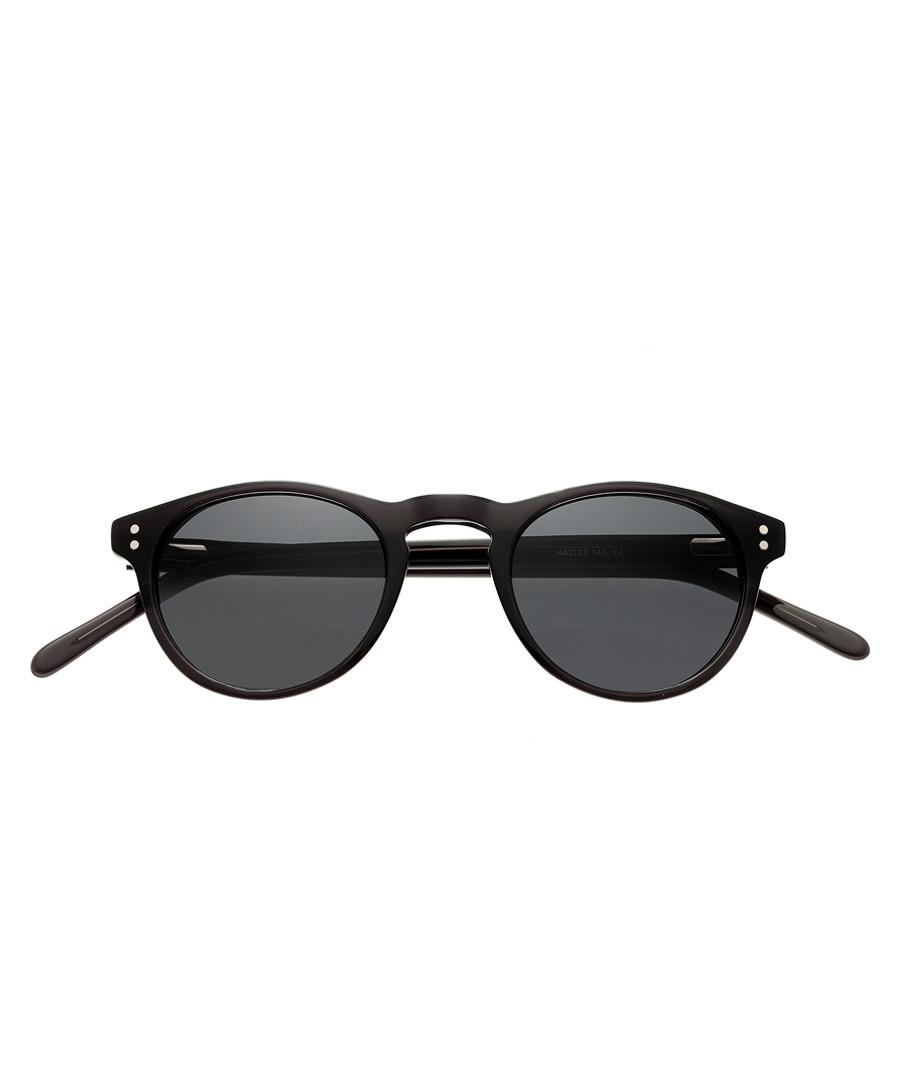 f77eb3070d87 Black round sunglasses Sale - Simplify