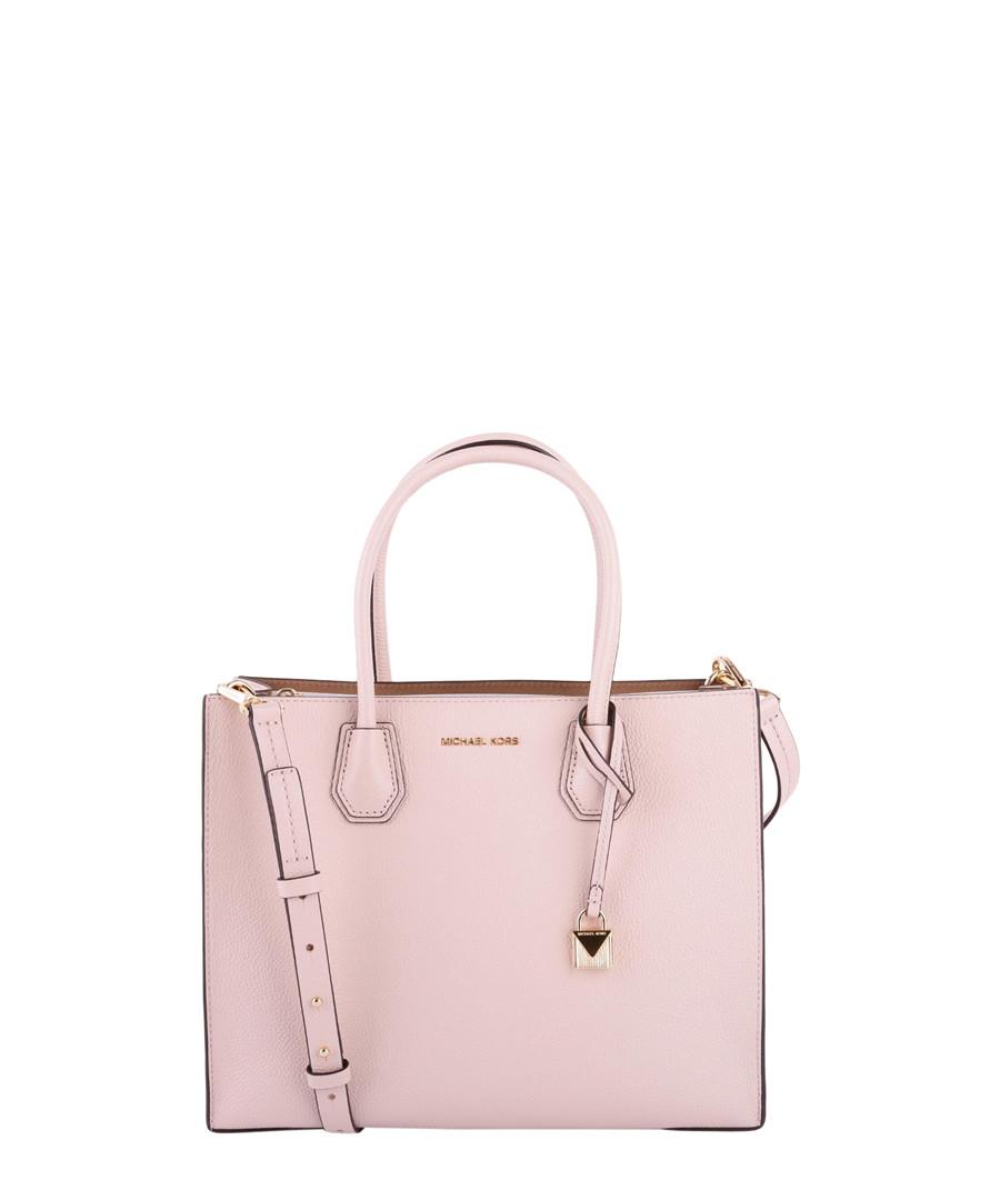 588425dbc275 Mercer Large pale pink leather grab bag Sale - MICHAEL MICHAEL KORS ...