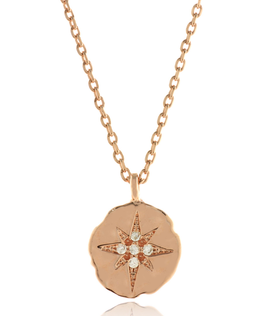 Star Sign rose gold-tone necklace Sale - fleur envy gaia