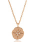 Star Sign rose gold-tone necklace Sale - fleur envy gaia Sale