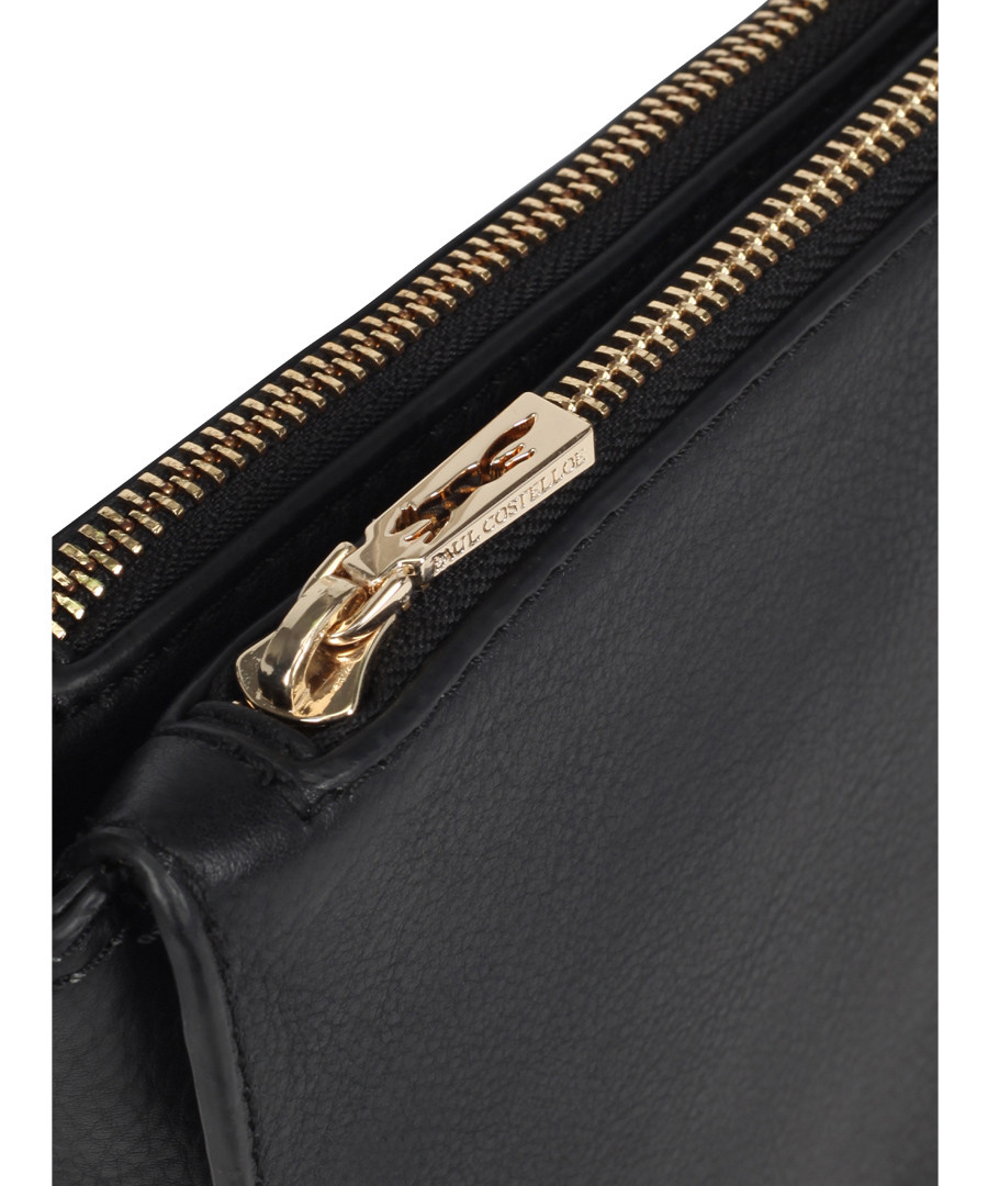 Colmar Black Leather Cross Body Bag by Paul Costelloe                                      Sold Out