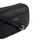 Cooper black leather cross body bag Sale - Paul Costelloe Sale