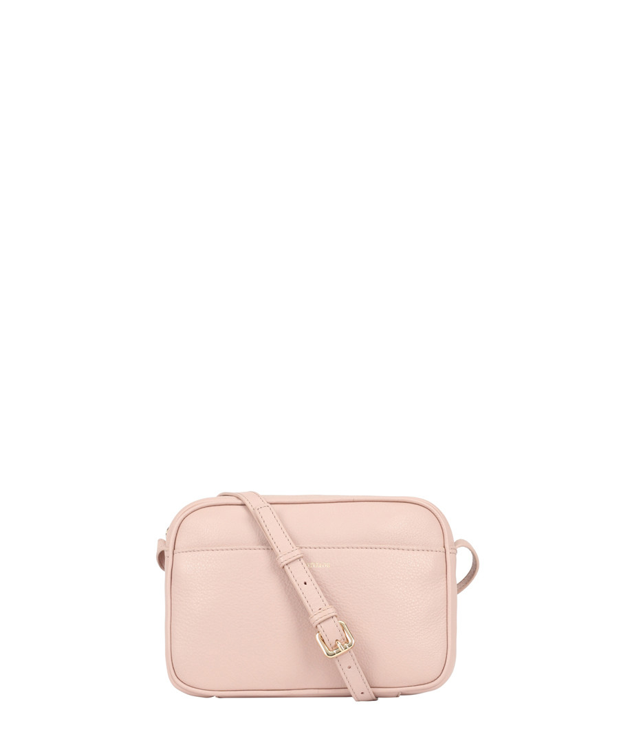 Cooper pink leather cross body bag Sale - Paul Costelloe