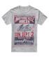 Grey cotton blend print T-shirt Sale - Petrol Heads Sale