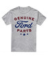 Grey cotton blend Ford logo T-shirt Sale - Petrol heads Sale