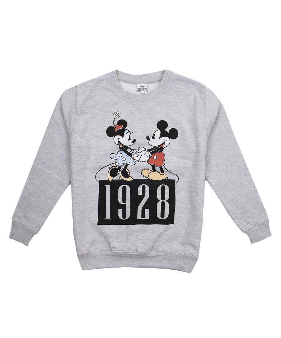 Girls' 1928 Mickey grey jumper Sale - Disney