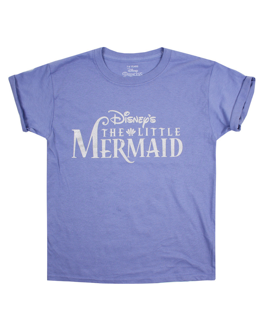Girls' The Little Mermaid violet T-shirt Sale - Disney