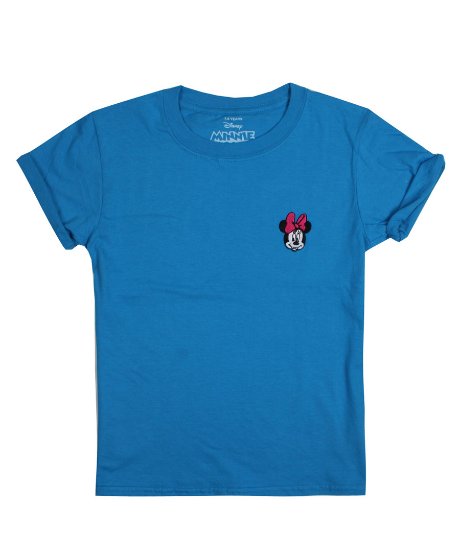 Girls' Minnie sapphire logo T-shirt Sale - disney