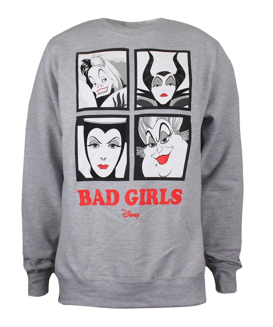 Women's Bad Girls grey jumper Sale - disney