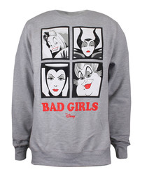 Women's Bad Girls grey jumper