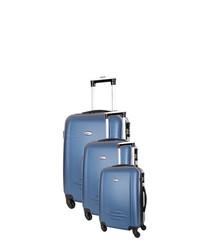 3pc marine spinner suitcase nest