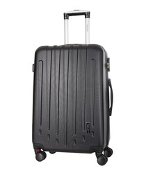 Black spinner suitcase 70cm