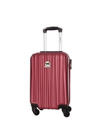 Bordeaux spinner suitcase 46cm