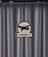 Grey spinner suitcase 46cm Sale - cabine size Sale
