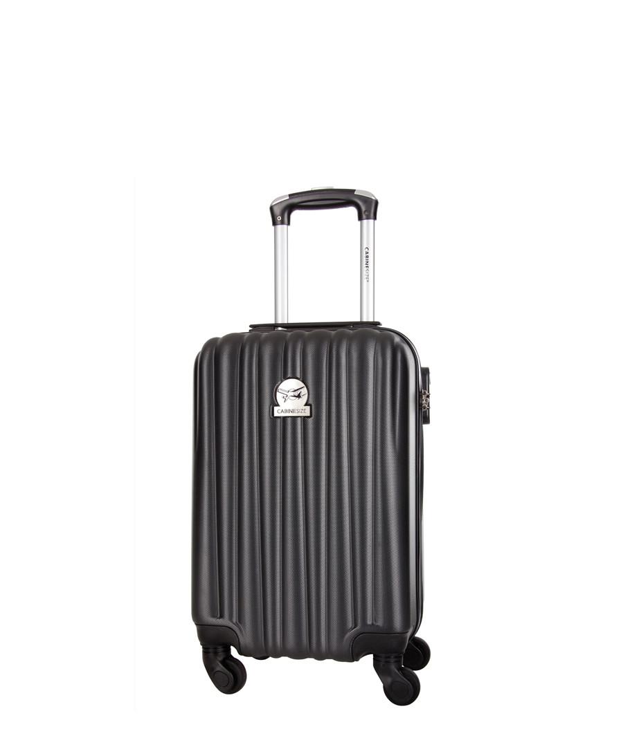 Black spinner suitcase 46cm Sale - Cabin Size