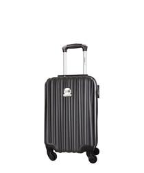 Black spinner suitcase 46cm
