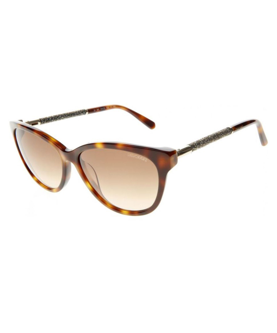 Light brown Havana sunglasses  Sale - swarovski