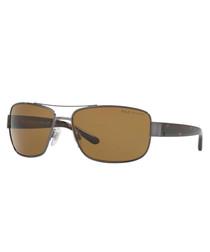 Brown & grey sunglasses