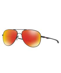 Black & orange trim sunglasses