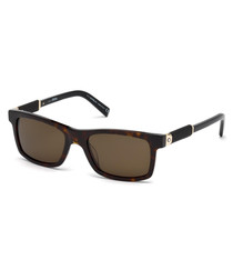 Men's brown & Havana sunglasses