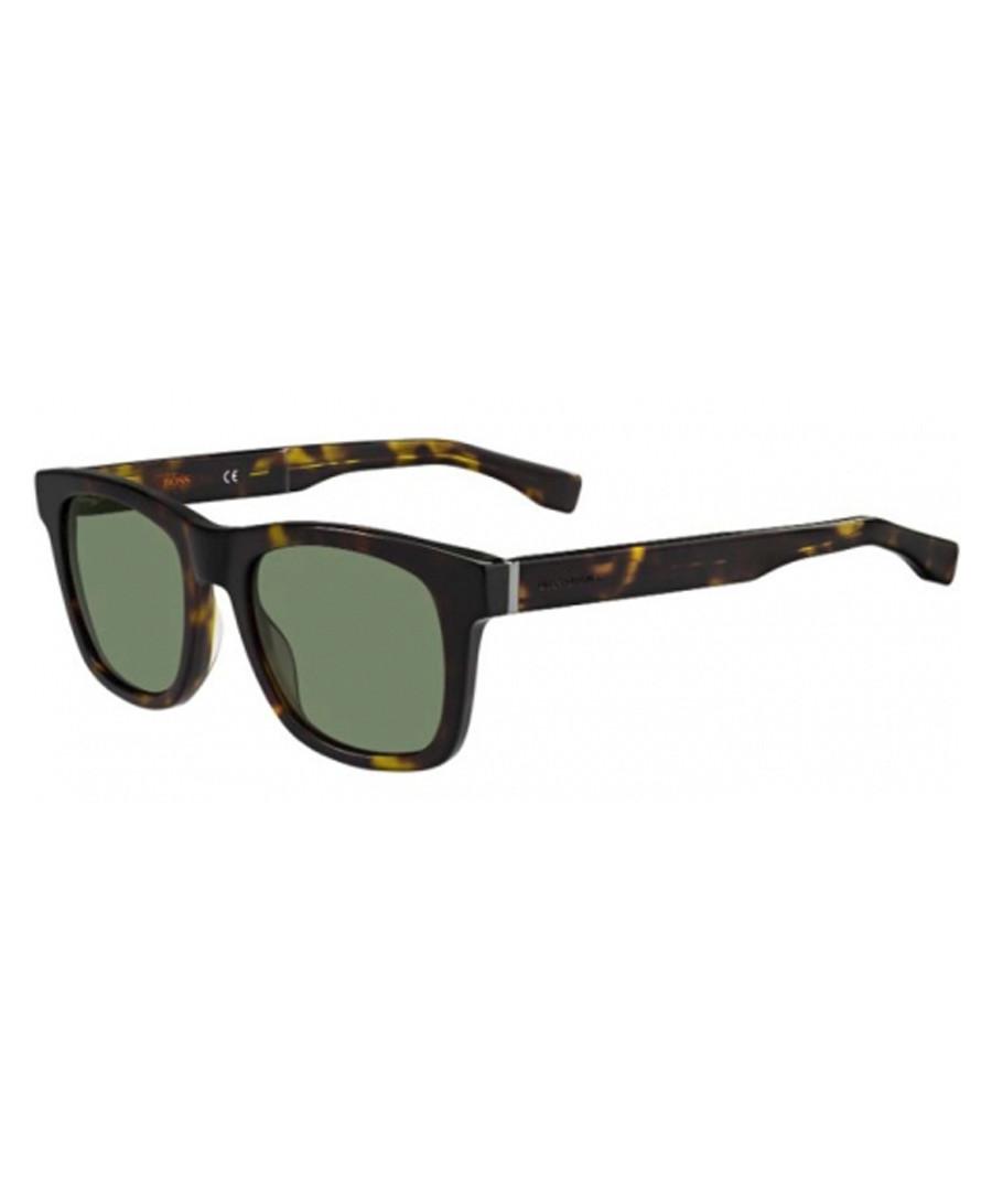 Green & Havana sunglasses  Sale - boss orange