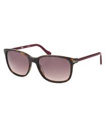 Pink & Havana sunglasses