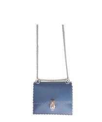 Women's light blue cross body bag