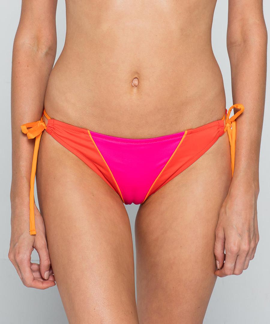 Zoffany pink orange tied bikini briefs Sale - Paolita