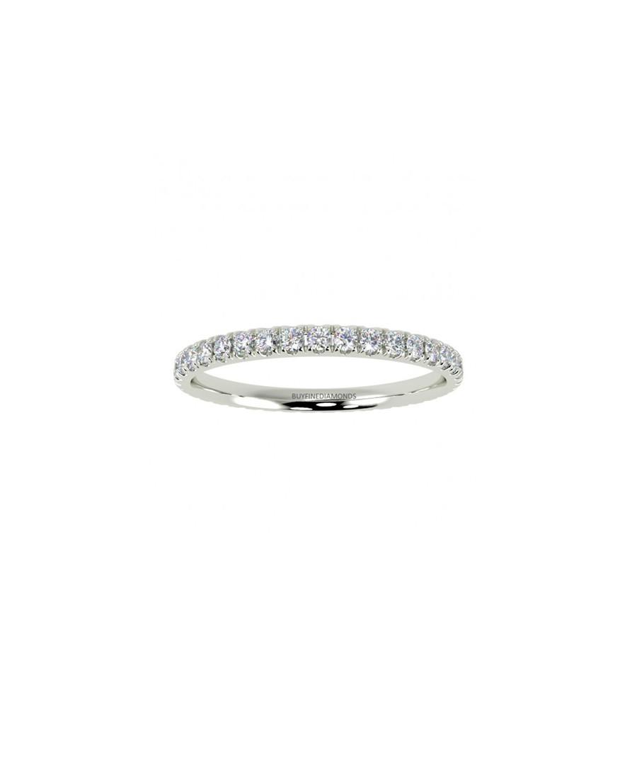 0.4ct diamond & white gold eternity ring Sale - Buy Fine Diamonds
