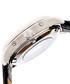 Gustaf silver-tone & black leather watch Sale - reign Sale