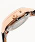 Bhutan rose gold-tone & leather watch Sale - reign Sale