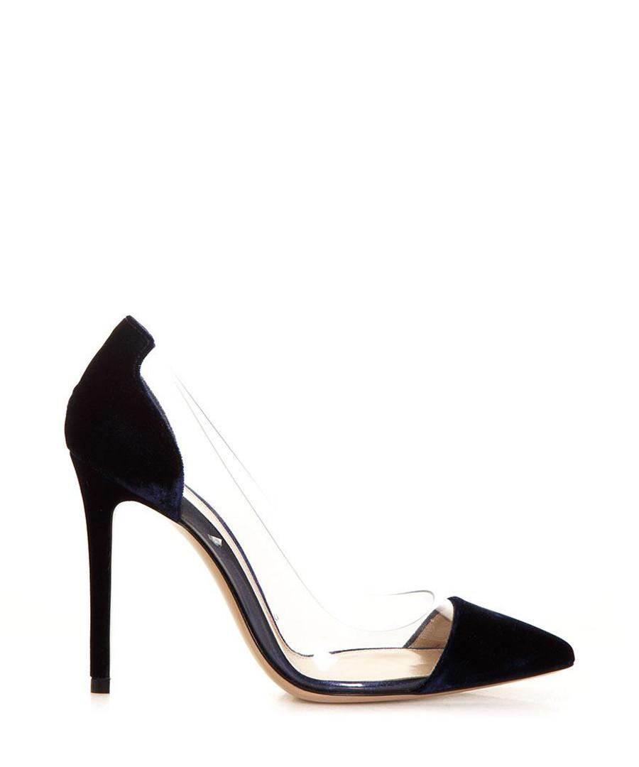 Black & transparent stiletto heels Sale - gianvito rossi