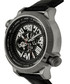 Thanos silver-tone & black leather watch Sale - reign Sale