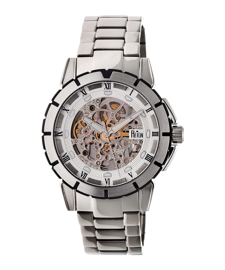 Philippe silver-tone steel watch Sale - reign
