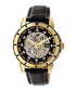 Philippe gold-tone & black leather watch Sale - reign Sale