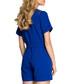 Royal blue short sleeve playsuit Sale - made of emotion Sale