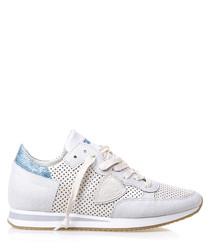 Tropez white leather sneakers