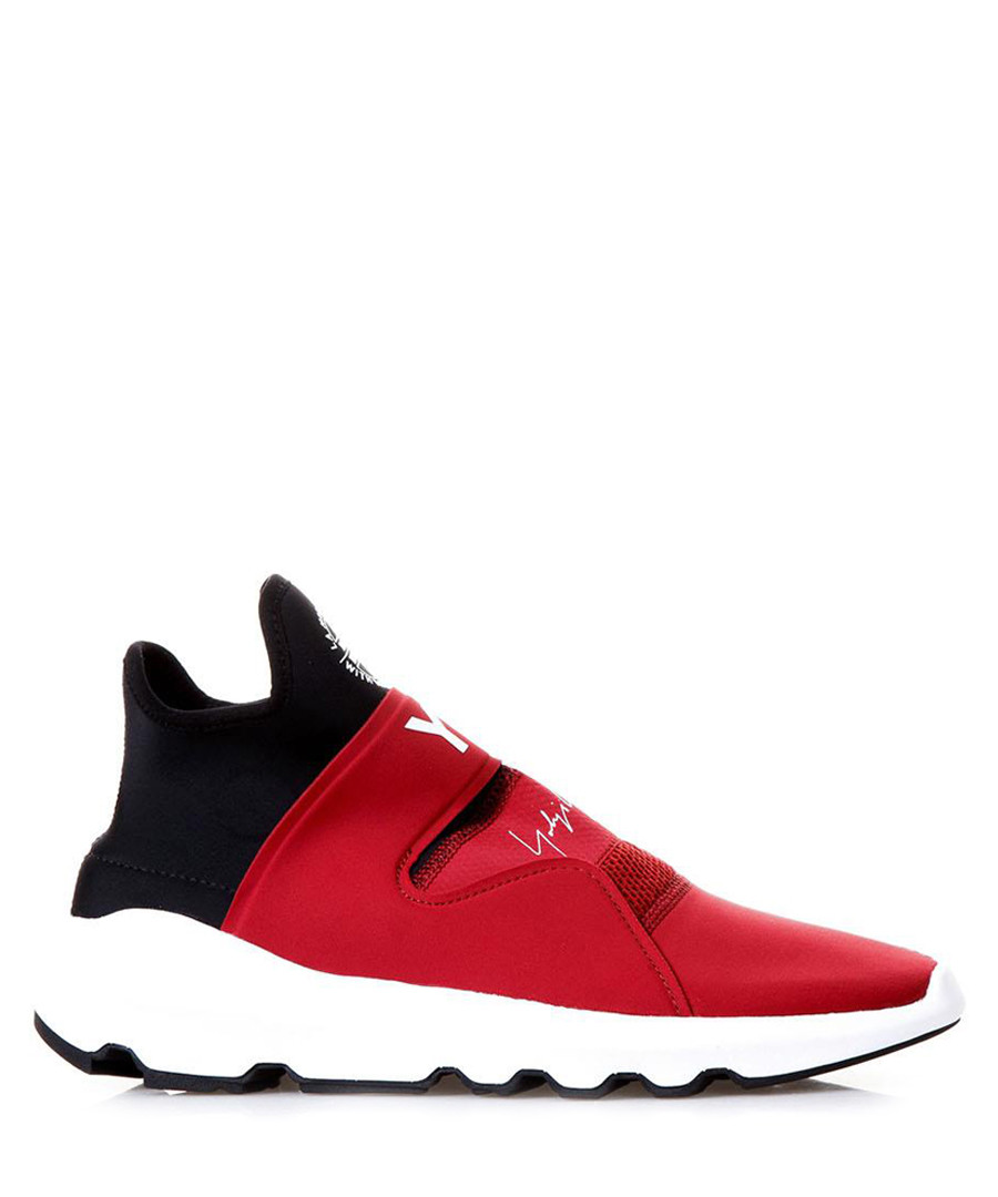 cd9e25f704ad Suberou red leather sneakers Sale - ADIDAS Y-3
