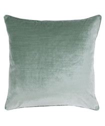 Meridian mint square filled cushion